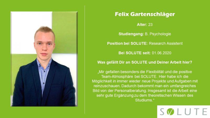 Steckbrief Felix Gartenschläger