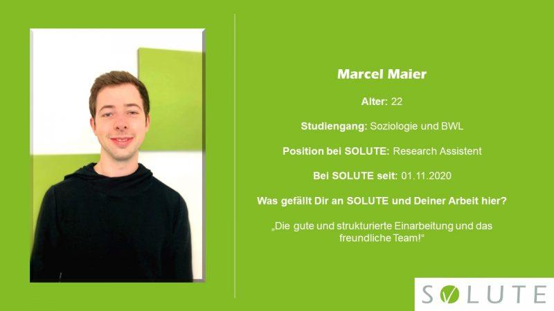 Steckbrief Marcel Maier