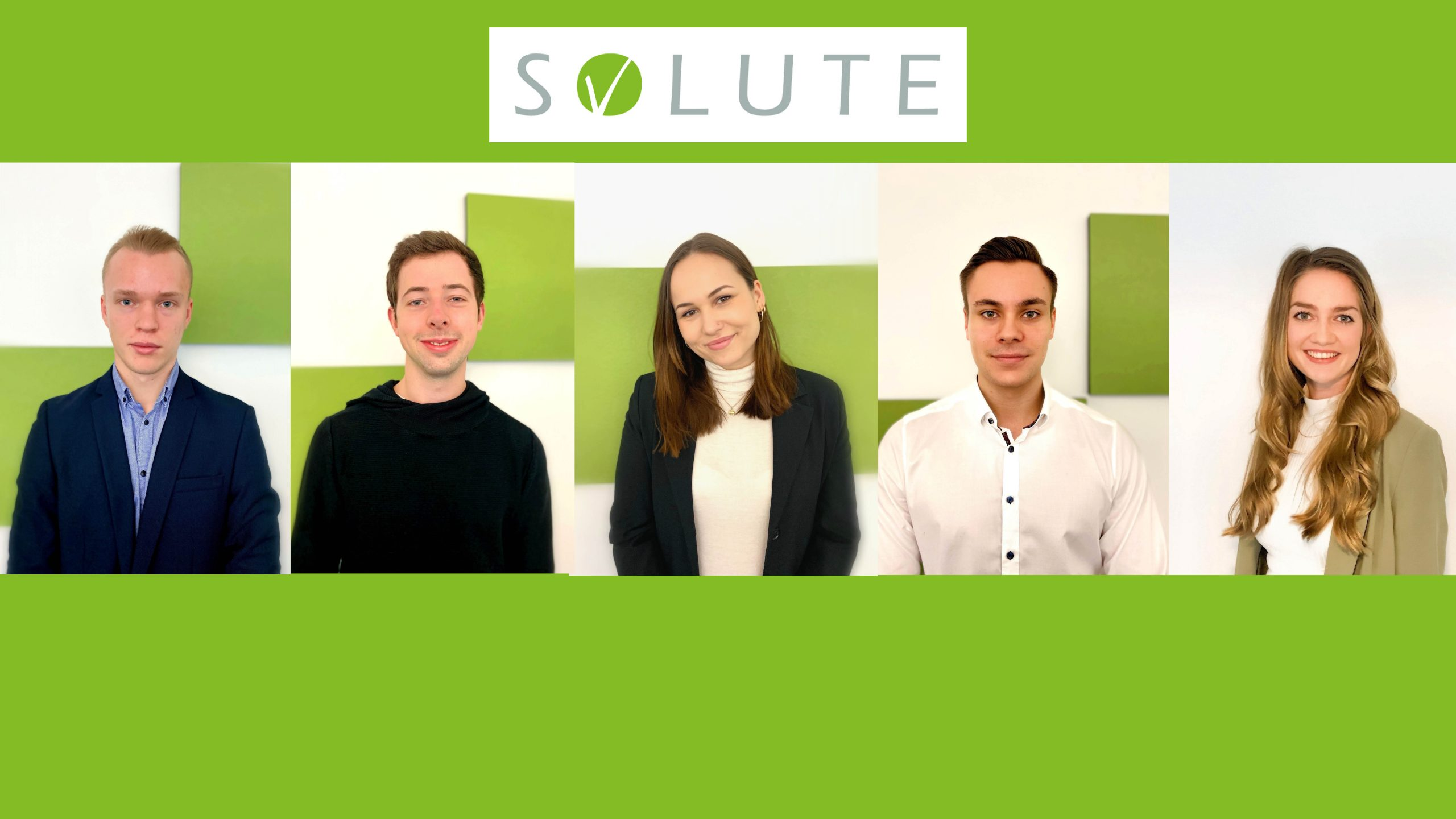 Collage Werkstudenten SOLUTE Website